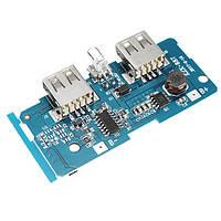 3,7 В до 5V 1A 2A Boost Module DIY Плата материнской платы Power Bank Встроенная в 18650 литиевая защита Батарея IC Дважды USB-выход Перегрузка по
