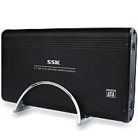 SSK HE-G130 USB 3.0 to SATA 3.5-дюймовый жесткий диск SSD Корпус жесткого диска Поддерживает функцию OTB