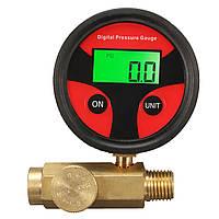 1/4 дюймов 200PSI Регулятор давления воздуха Регулирующий клапан для распылителя