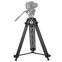PULUZPU3003Профессиональныйтяжелыйалюминиевыйсплав Штатив для DSLR SLR камера Видеокамера