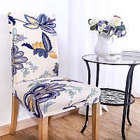 KCASA WX-PP3 Элегантный цветок Упругие Stretch Chair Seat Cover Столовая Главная Свадебное Декор