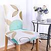 KCASA WX-PP3 Элегантный цветок Упругие Stretch Chair Seat Cover Столовая Главная Свадебное Декор, фото 2