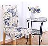 KCASA WX-PP3 Элегантный цветок Упругие Stretch Chair Seat Cover Столовая Главная Свадебное Декор, фото 3