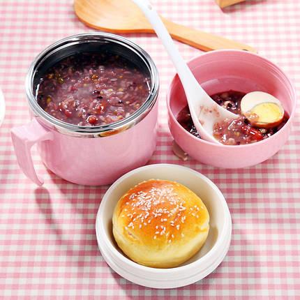 KCASA KC-BCH06 Портативный изоляционный обед Коробка Термобенс из нержавеющей стали Коробка Контейнер для пищевых продуктов, фото 2