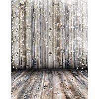 3x5Ft Виниловая Мечтательная Серый Деревянная Стена Фотосъемка Фон Фон Студия Prop