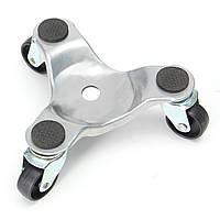 3-колесные ходовые касторы Мебельные двигатели грузчики Долли 60кг для тяжелых устройств