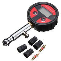 200psi LCD Тестер для измерения давления в шинах для шин для мотоциклов Авто Auto мотоцикл