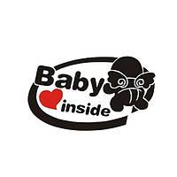 19x11cm Ребенок на борту Светоотражающий Авто Наклейки Авто грузовой автомобиль мотоцикл Декаль