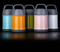 KCASA KC-BCH05 Портативный изоляционный ланч Коробка Нержавеющая сталь Thermal Bento Коробка Контейнер для пищевых продуктов