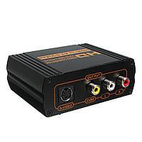 HD 1080P HD для RCA AV CVBS Композитный S-Video R / L Audio HDCP Адаптер конвертера