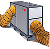 Мобильный дизельный теплогенератор KROLL HM-200