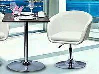 База для стола Кристал хром. 80