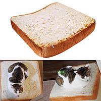 Тост Подушка Хлеб Форма Пэт Мат Кровать Губка Pad Для Собака Кот Питомник Уютный Soft
