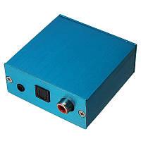 PCM2704 USB DAC USB к S/PDIF Звуковая плата декодера с алюминиевым Коробка для компьютера