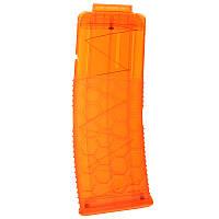WORKERToy15DartsЖурналпластиковыхклипов для Nerf Аксессуары для аксессуаров ОранжевыйПрозрачный