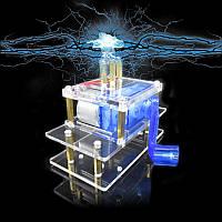 Динамо Ручной кривошипный генератор Аварийная энергия Электронный эксперимент DIY Набор