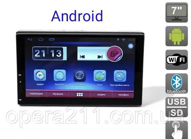 Автомагнитола 2-DIN 7 дюймов / GPS / Android 6.0