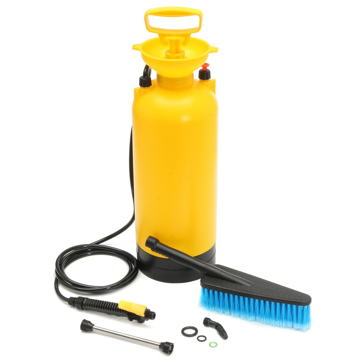 8L Переносная моечная машина высокого давления Насос Spray Авто Wash Щетка Шланг Lance Cleaner - ➊TopShop ➠ Товары из Китая с бесплатной доставкой в Украину! в Днепре