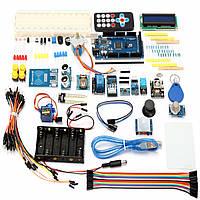 Mega 2560 Изучение начинающих Набор С 1602 LCD RFID Реле Мотор Зуммер для Arduino