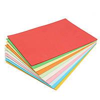 100Pcs A4 Многоцветная картона Картонная бумага DIY Craft Handicraft