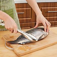KCASA KC-SP096 Быстрая рыба из нержавеющей стали Шкала Скребок для удаления кираса Кулинария Морепродукты Набор