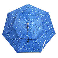 НаоткрытомвоздухеАнтиУФветрозащитный двойной зонт Рыбалка Шапка Портативный тень Кемпинг Рыбалка Инструмент