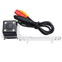 4 LED Авто Реверсивный задний камера Беспроводной IP67 для VW Passat T5 Caddy Golf Sk0da