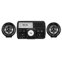 Водонепроницаемы мотоцикл Аудиосистема Стереогарнитура MP3 Радио USB с функцией Bluetooth
