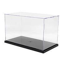 31x17x19cm Clear Acrylic Дисплей Показать Чехол Коробка Пластиковый пылезащитный лоток
