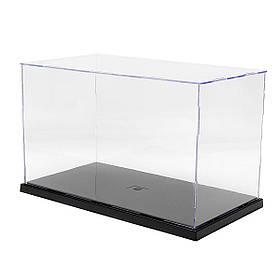 31x17x19см Прозрачный акрил Дисплей Показать Чехол Коробка Пластиковый пылезащитный защитный лоток-1TopShop