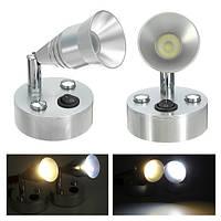 12V 150lm Мотор Главная Прикроватная лампа для чтения на стене Яхта LED Теплый белый Лампа