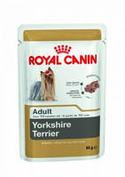 Royal Canin (Роял Канин) YORKSHIRE ADULT влажный корм для йоркширских терьеров старше 1 года, 85 г