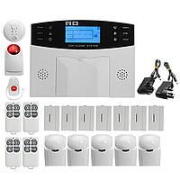 LCD Безопасность беспроводной GSM Авто Dial дома дом охранной охранной сигнализации