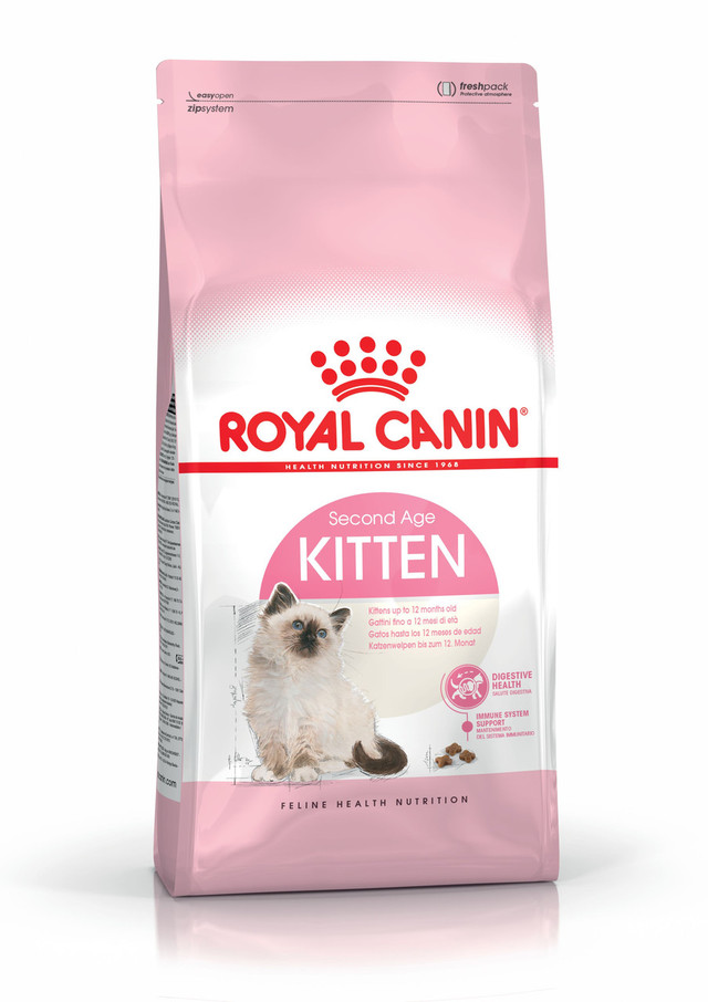 Royal Canin (Роял Канин) KITTEN Полнорационный корм для котят до 12 месяцев 2 кг