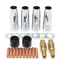 19 штук Сварочный факел MB15/150 Комплекты принадлежностей Соединительная изоляционная втулка