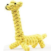Yani DCT-4 Собака Toy Giraffe Pet Chew Прочный хлопок Веревка Интерактивный Зубной Чистка зубов для Собака