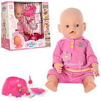 Пупс Baby Born, 9 функций, 2 соски (в разобранной коробке) (ОПТОМ) BB 8001-4