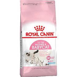 Royal Canin (Роял Канин) Mother Babycat Сухой корм для котят до 4 месяцев (для беременных и кормящих кошек),
