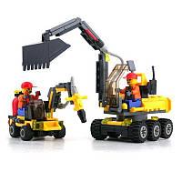 KAZIСтроительныйблокЭкскаваторУчебныйподарок # 6092 Fidget Toys 192 штук