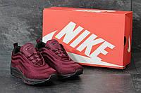 Кроссовки Nike Air Max 97, бордовые