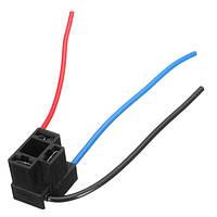 H4 Фара 3-штырьковая лампа Замена лампы для кабельного наконечника Ремонт Коннектор Штекер Провод Электропроводка