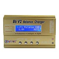 HTRC B6 V2 80W 6A Цифровой RC Батарея Разрядник зарядного устройства для LiPo Батарея
