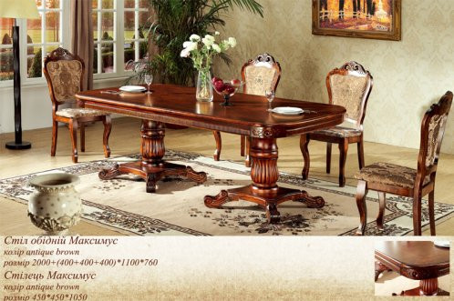 Столы и стулья для гостиной и кухни