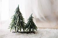 Новогодние елочки на деревянной основе