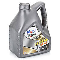 Моторное масло  Mobil Super 3000 X1 5W-40 4л.