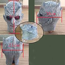 Охотничьи мужчины Латекс Страшные Маска Ужас для лица с полным лицом для Хэллоуина, фото 3