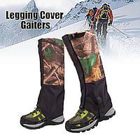 1 пара камуфляжа Водонепроницаемы На открытом воздухе Восхождение на походные набедренники на ногах