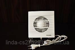 Вентилятор Zefir 100 WP, бытовой вентилятор на втулке