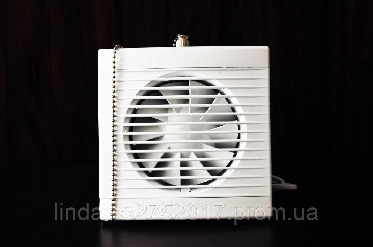 Вентилятор Play clasic 100 wp, тихий вентилятор, вентилятор на шариковом подшипнике