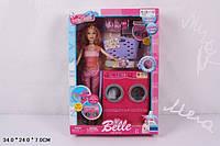 Игровой набор мебели для кукол, стиральная машинка